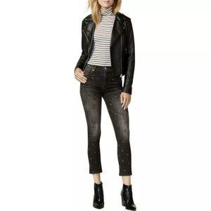 Hudson Jeans High Rise Crop Harper Baby Kick Flare
